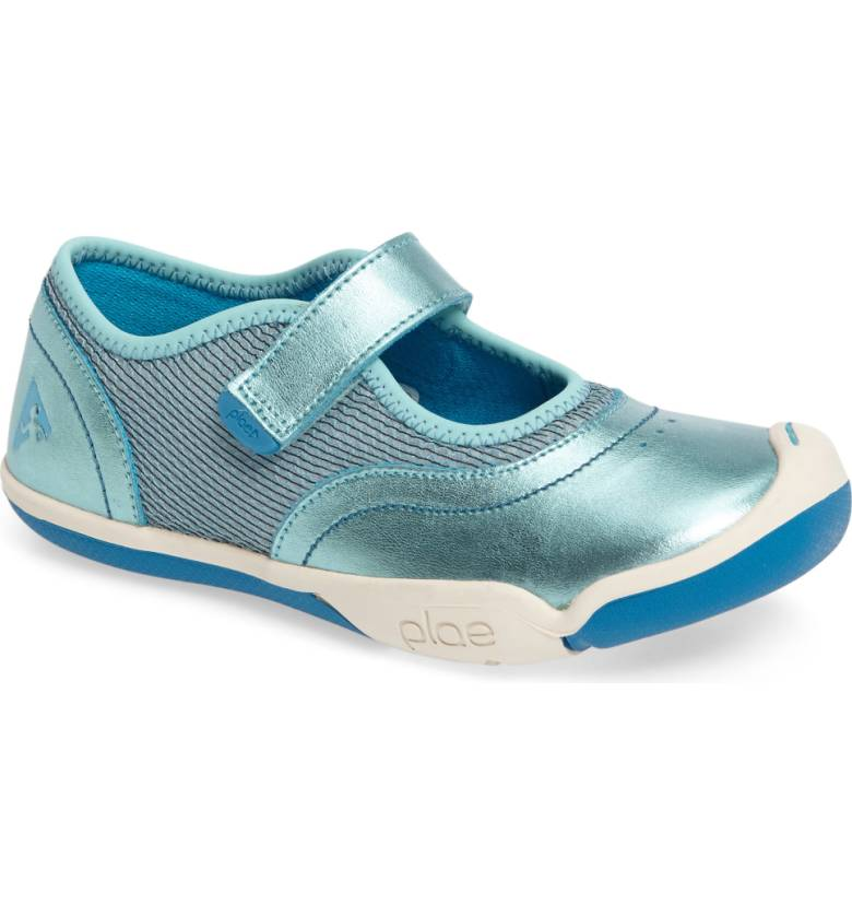 Plae Emme MJ in Teal Metallic