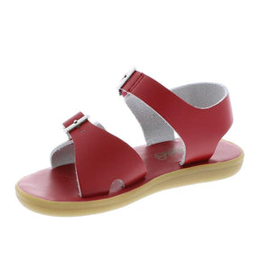 Tide Water-Friendly Leather Sandal - Apple Red