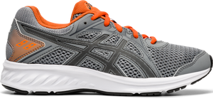 Asics Kids Jolt 2 GS Lace Sneaker - Sheet Rock/Orange