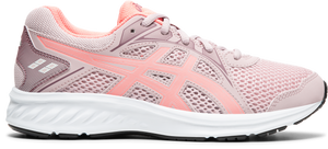 Asics Kids Jolt 2 GS Lace Sneaker - Watershed Rose/Sun Coral