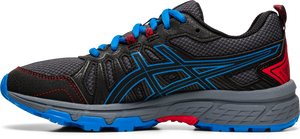 Asics Kids Gel-Venture 7 GS Lace Sneaker - Black/Directoire Blue