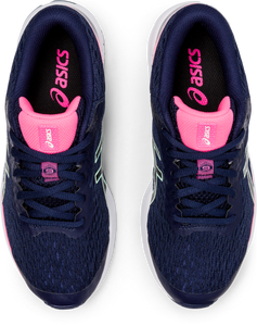 Asics Kids GT-1000 9 GS Lace Sneaker - Peacoat/Black/Hot Pink