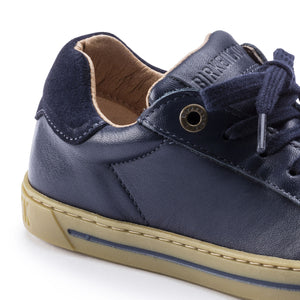 Kids Porto Smooth Leather Sneaker - Navy