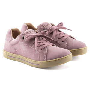 Birkenstock Porto Kids Suede Leather Sneaker - Lavender Blush