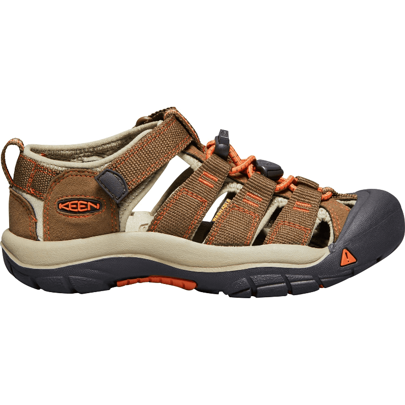 Keen Newport H2 Sandal Dark Earth/Orange