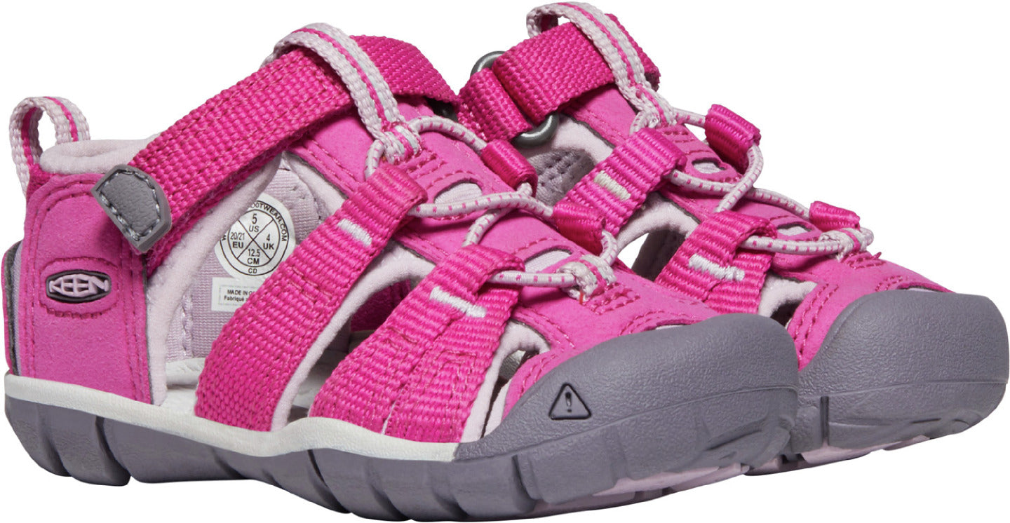 Keen Toddler Seacamp II CNX Sandal Very Berry/Dawn Pink