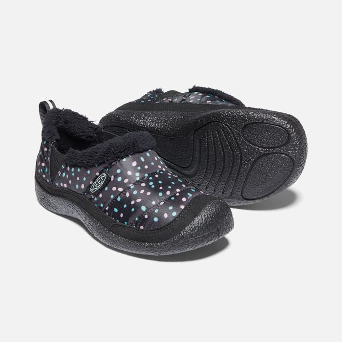 Keen Kids' Howser II Slip-On Slipper Shoe - Black/Beveled Glass