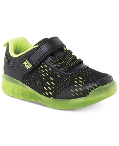 Made2play Lighted Neo Sneakers - Black/Neon Green
