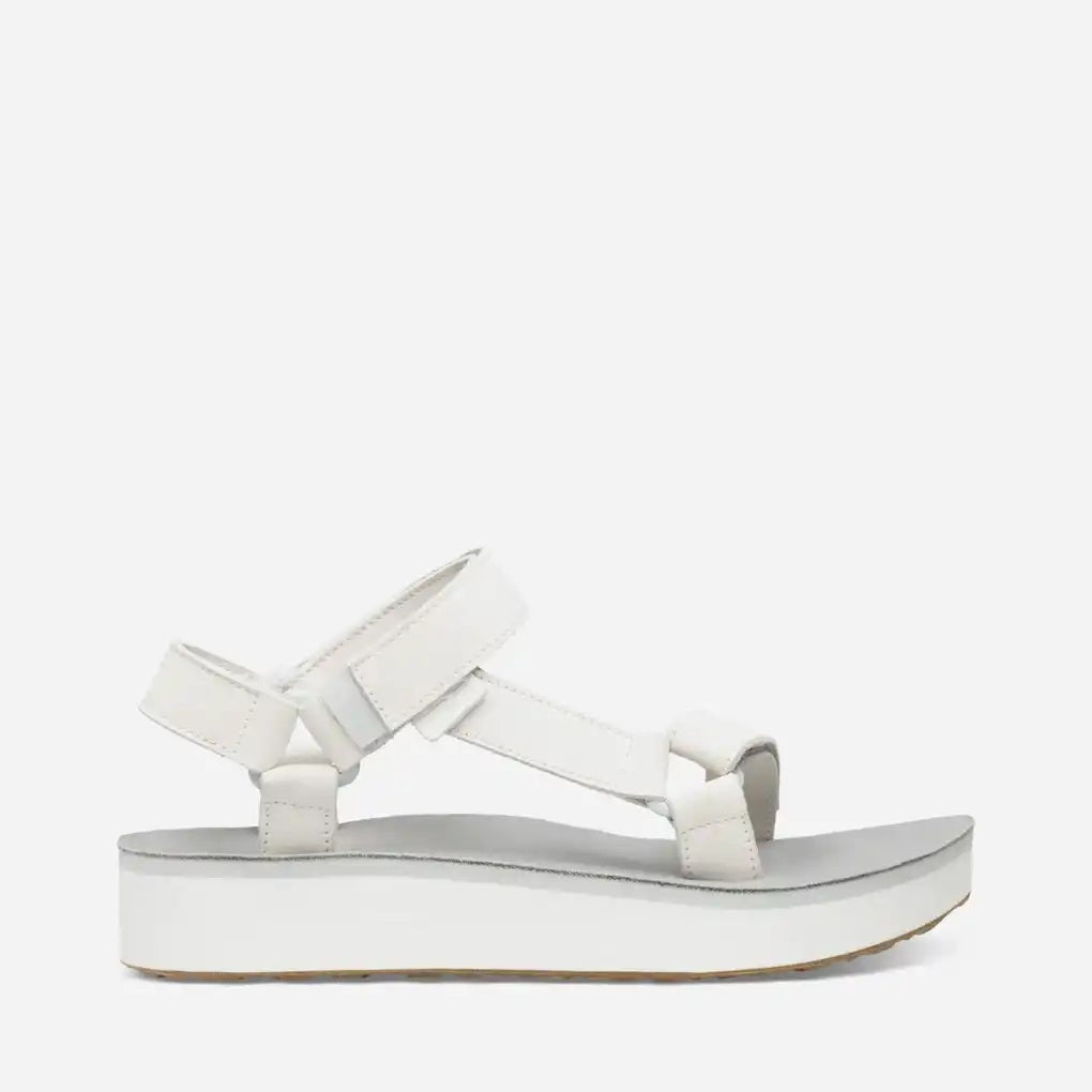 Teva Midform Universal Leather Women's Sandal - White