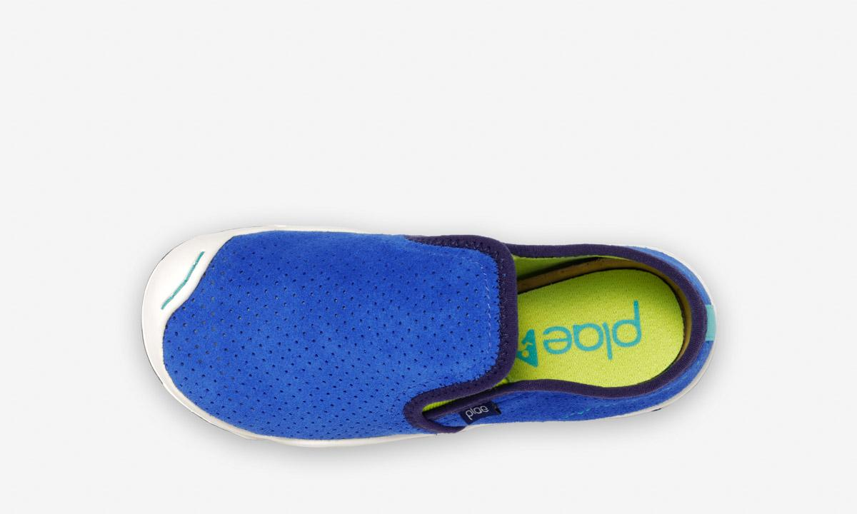 Plae Kids Migi Slip on Sneaker - Hyper Blue