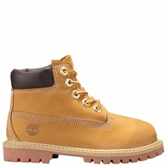 Timberland 6in Premium Waterproof Boot Wheat Nubuck