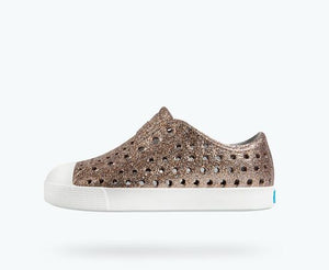 Native Kids Jefferson Bling Slip On Shoes - Metal