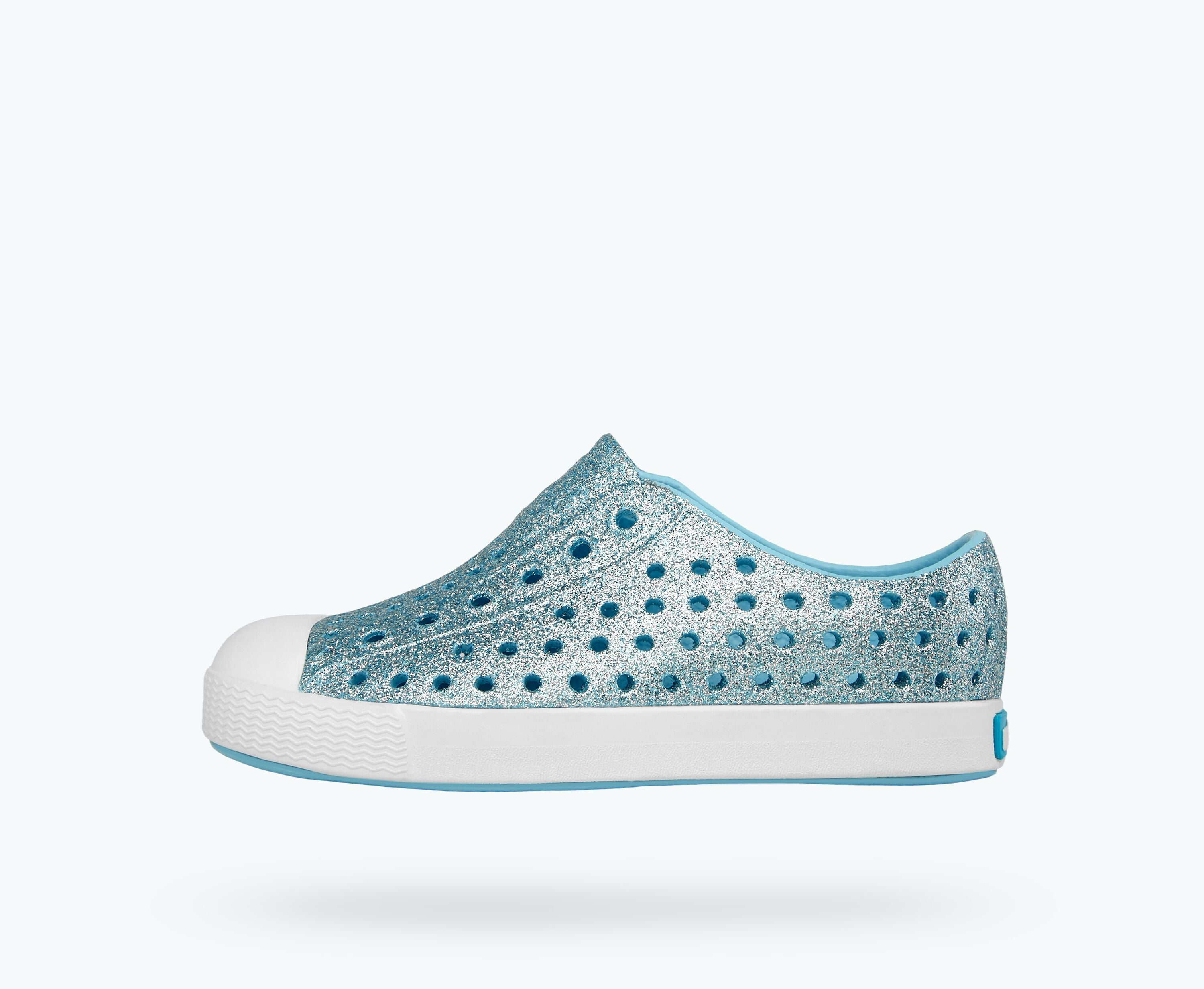 Native Kids Jefferson Bling Slip On Shoes - Pool