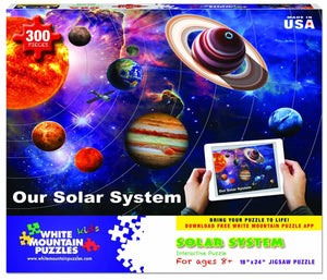 White Mountain Solar System Jigsaw Puzzle