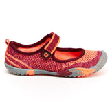 Jambu Sora MJ Burgundy/Coral -  - Little Feet Childrens Shoes  - 2