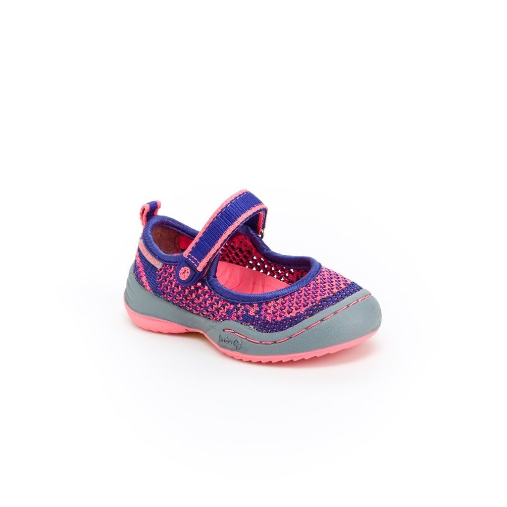 Jambu Baby Sora Mary Jane Navy/Pink