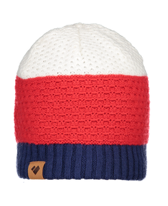 Adult Vancouver Beanie - Red/White/Navy