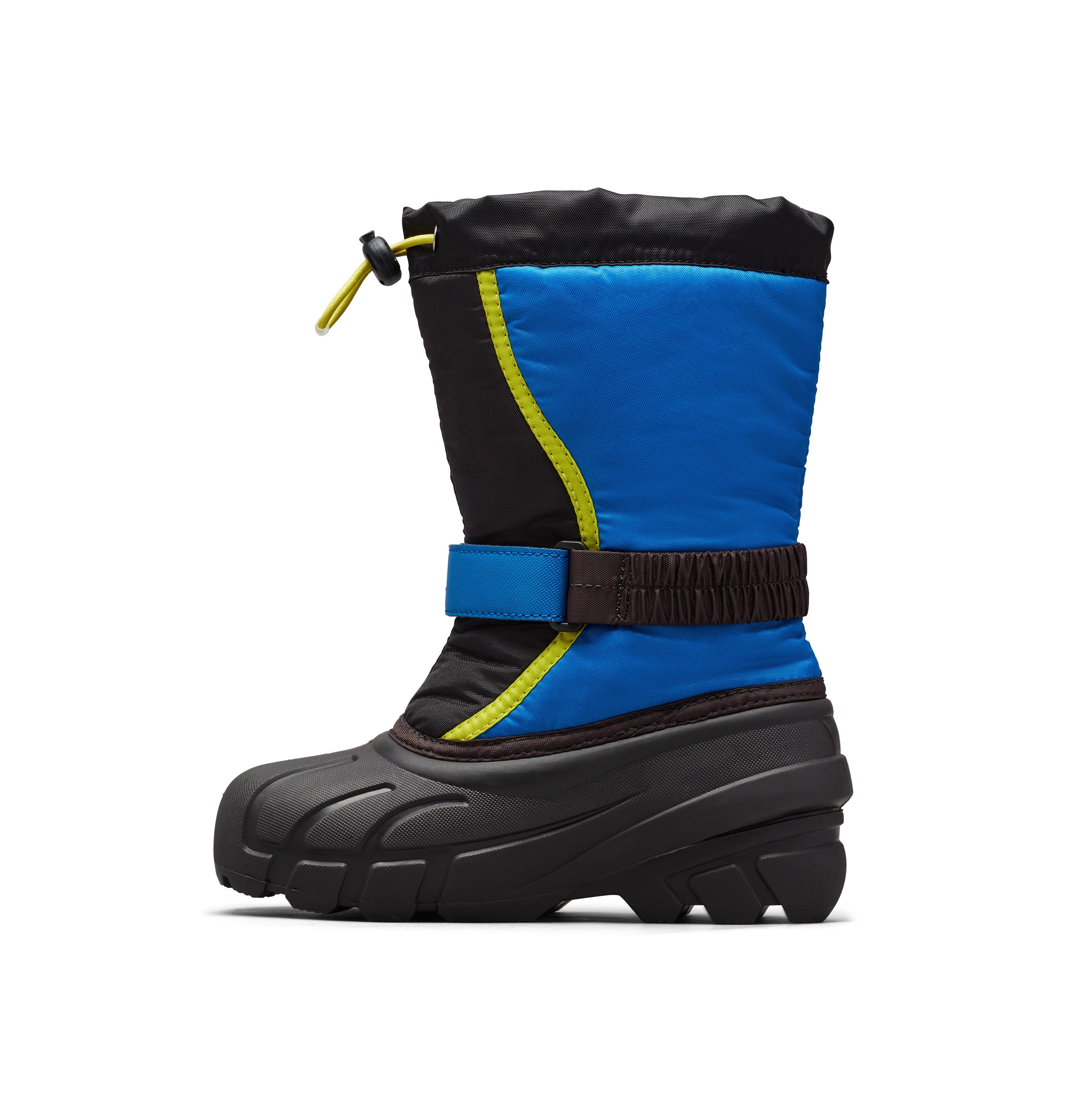 Youth Flurry DTV Winter Boot - Black/Super Blue