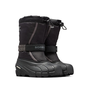 Youth Flurry DTV Winter Boot - Black/City Grey