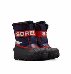 Sorel Childrens' Snow Commander™ Boot, Nocturnal Sail Red