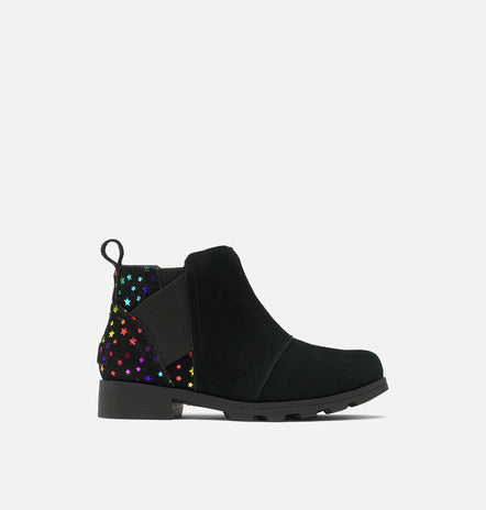 Youth Emelie Chelsea Bootie - Black/Stars