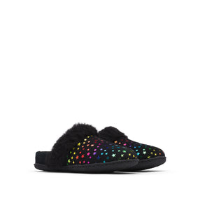 Youth Nakiska Slide II Slipper - Black Stars