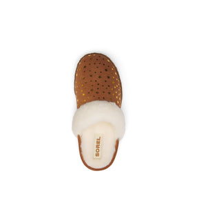 Sorel Youth Nakiska Slide II Slipper - Velvet Tan Stars