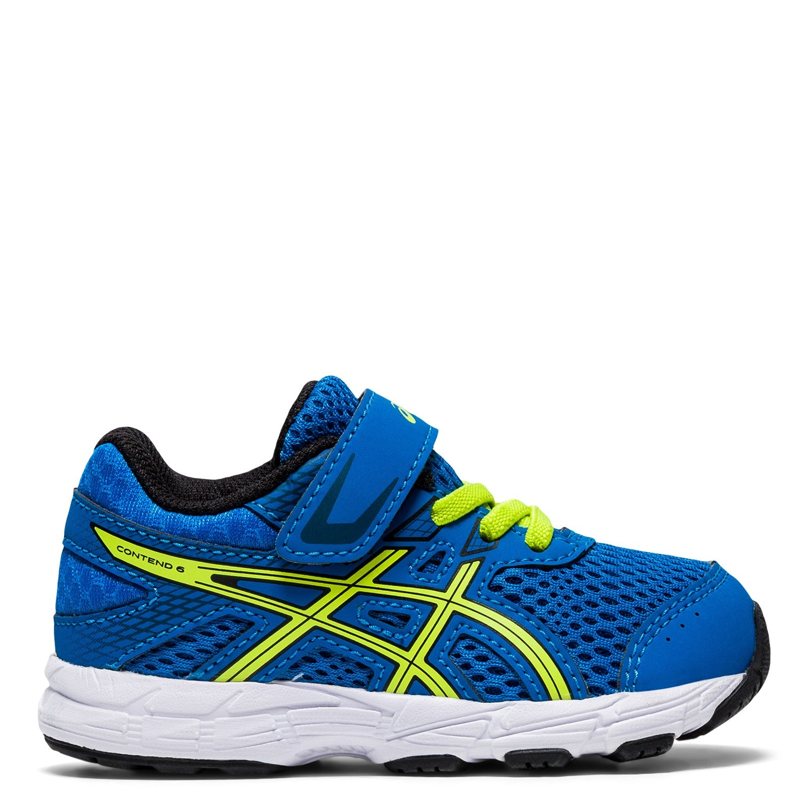 Asics Kids Contend 6 TS Toddler A/C Sneaker - Tuna Blue/Black
