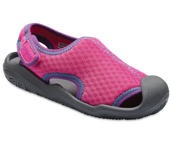 Crocs Kids Swiftwater Sandal - Pink