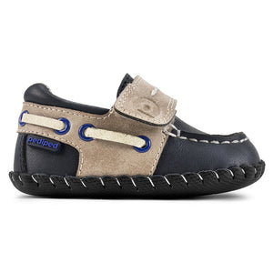 Pediped Originals® Norm Boatshoe - Nautical