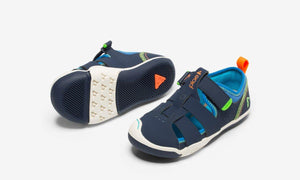 Plae Kids Sam 2.0 Fisherman Sandal - Navy Blue