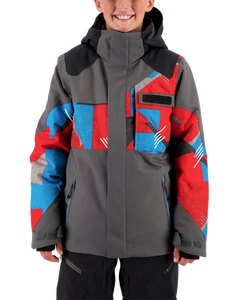 Obermeyer Boys Teen Outland Jacket-Gun Powder