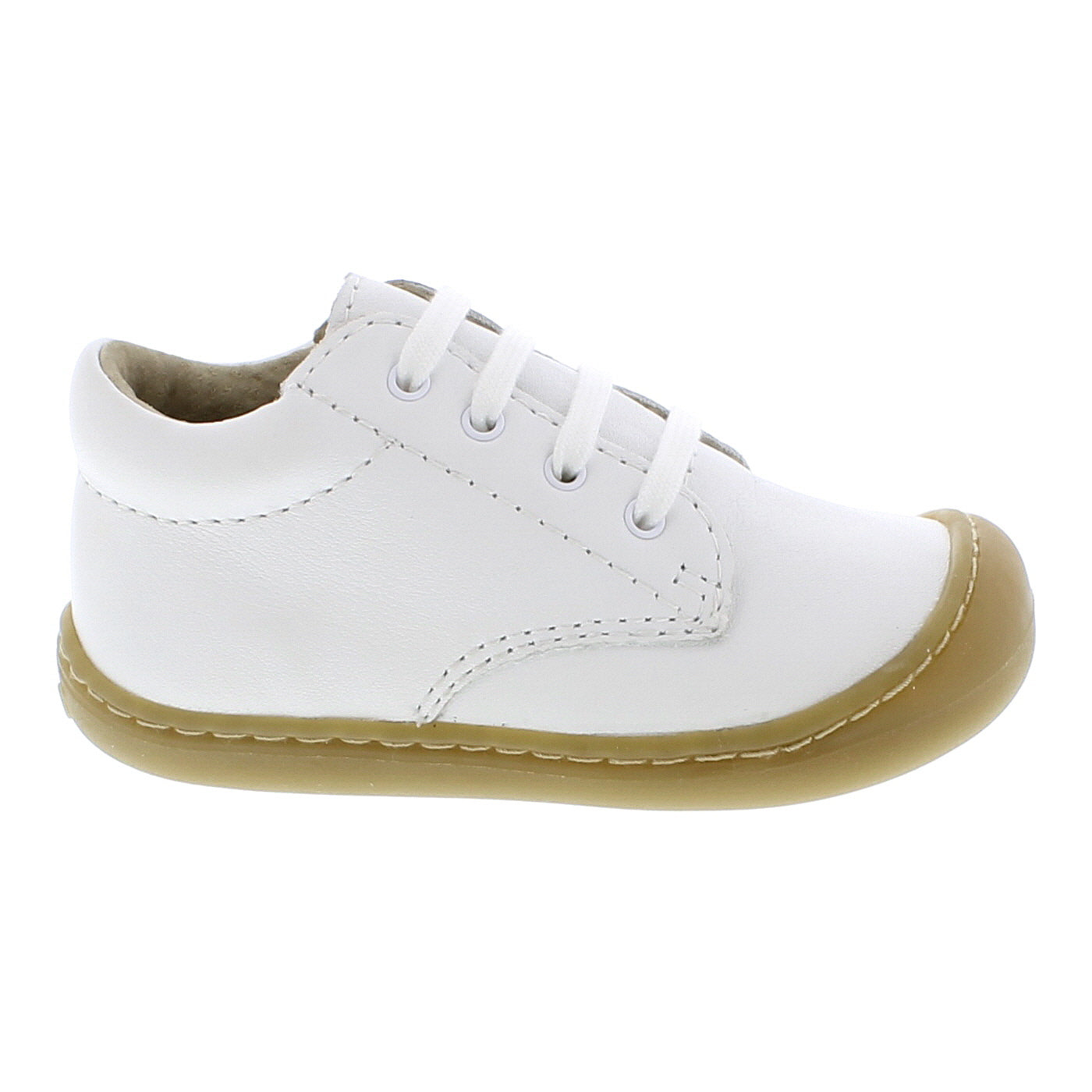 Footmates Reagan Lace Bootie - White Leather