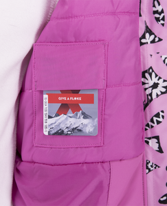 Obermeyer Girls Neato Winter Jacket-Pink Kabloom
