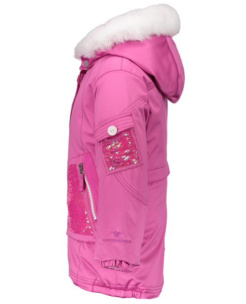 Obermeyer Girls Sparkle Winter Jacket-Pink