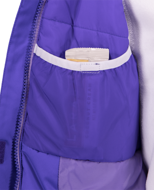 Obermeyer Girls Sparkle Winter Jacket-Purple