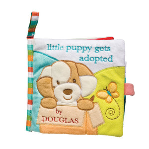Soft Activity Book - Tan Puppy