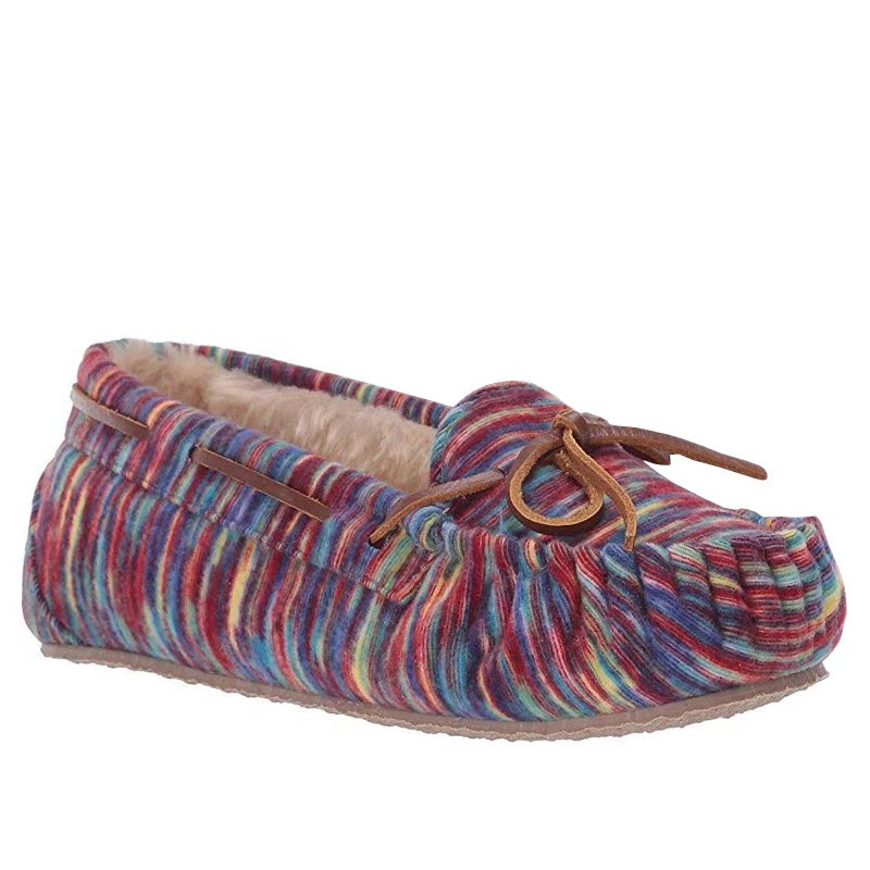 Minnetonka Moc Kids' Limited Edition Cassie Slipper - Multi
