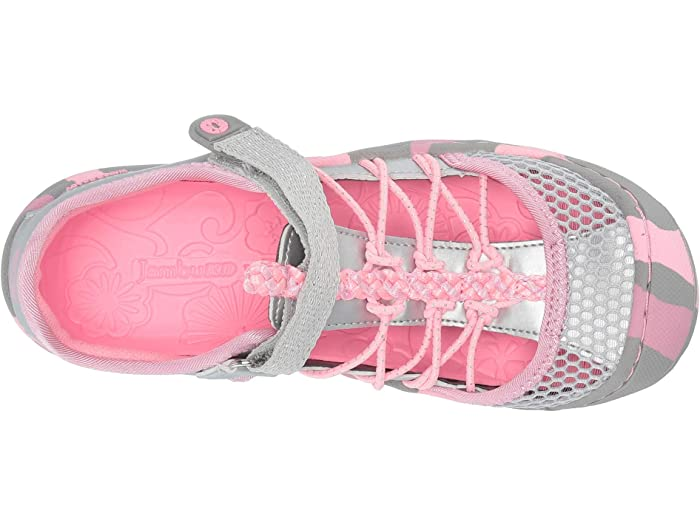 Everly Sandal - Silver/Pink