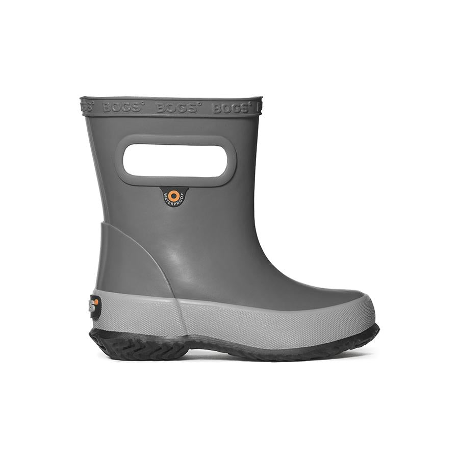 Skipper Solid Rain Boot - Gray
