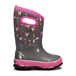 Classic Pegasus Kids' Winter Boots - Dark Grey Multi