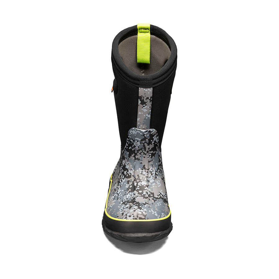 Classic Micro Camo Kids' Winter Boots - Grey Multi