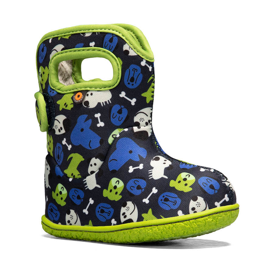 Baby Bogs Puppy Waterproof Boot - Blue Multi