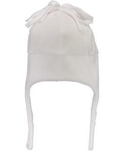 Orbit Fleece Hat - White