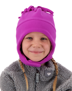Orbit Fleece Hat - Prickly Pear Purple