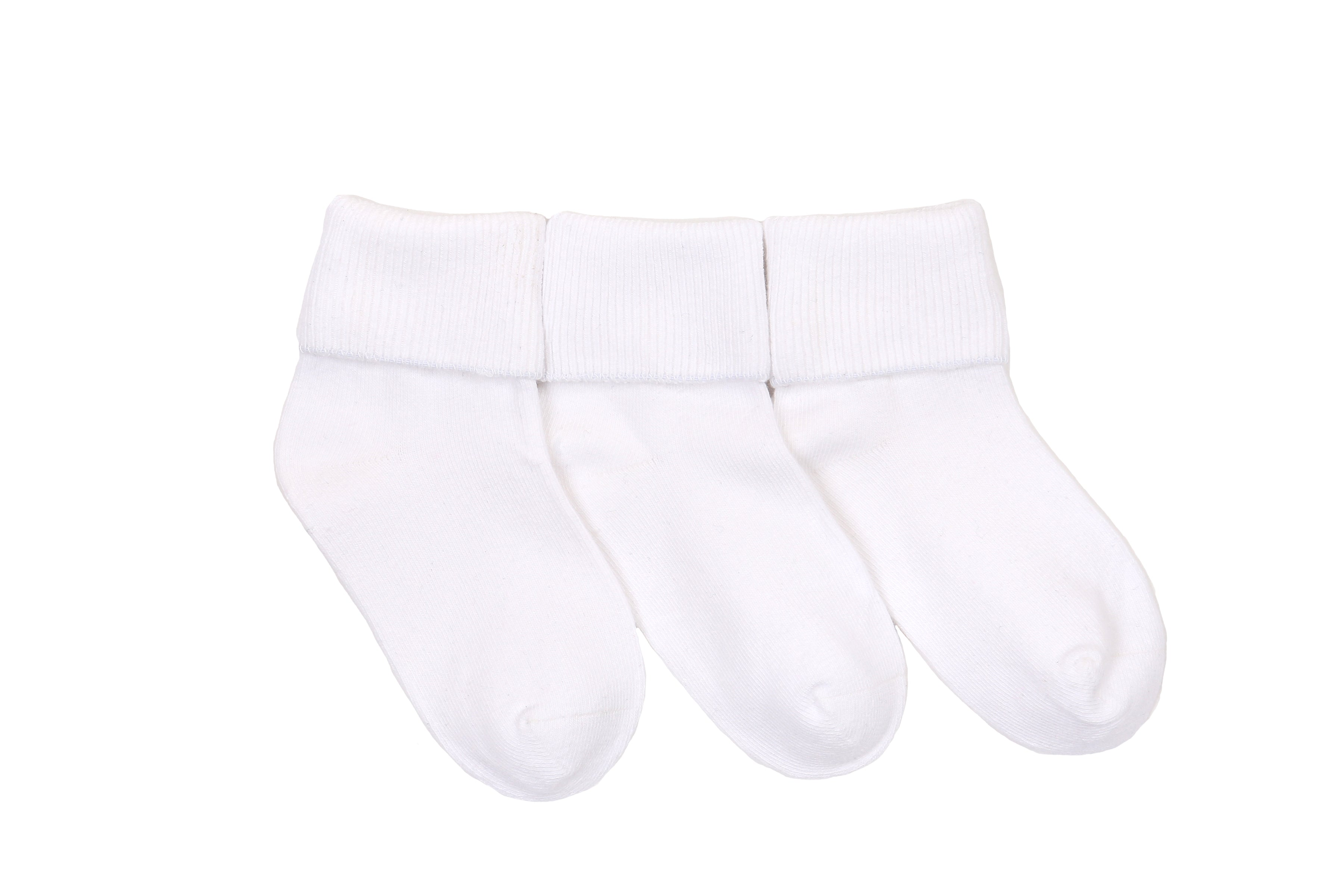 Stride Rite Kimberly Turncuff Socks - 3 pack