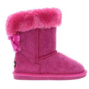 Lamo Kids Audrey Hot Pink Sherpa Boot