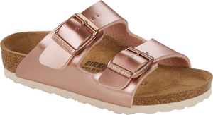 Kids Arizona Birko Flor Sandal - Electric Metallic Copper