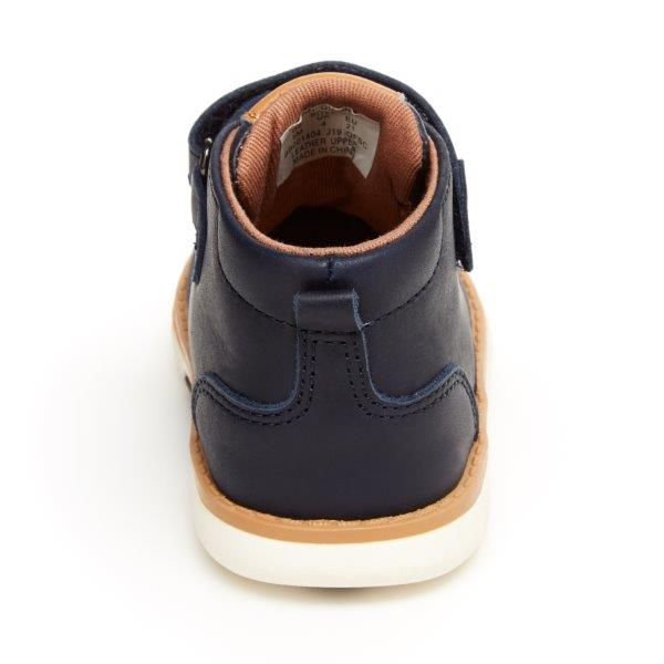 SRTech Quinn Boot - Navy Leather