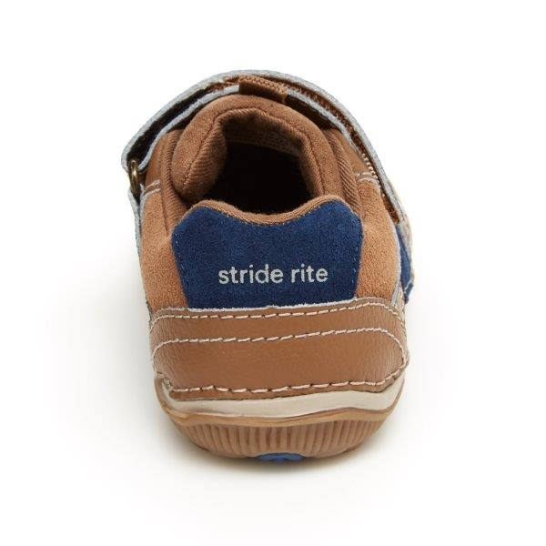 Stride Rite SRtech Wes Sneaker - Truffle Leather